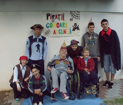 25-29 iunie 2012 tabara I pentru copii cu dizabilitati